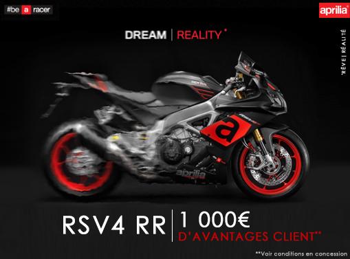 RSV4 - JUSQU'À 2000€ D'AVANTAGES CLIENT!