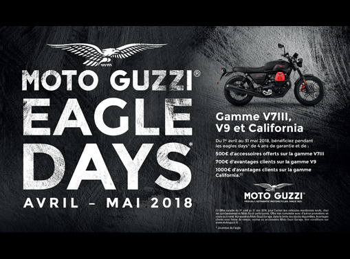 EAGLES DAYS MOTO GUZZI