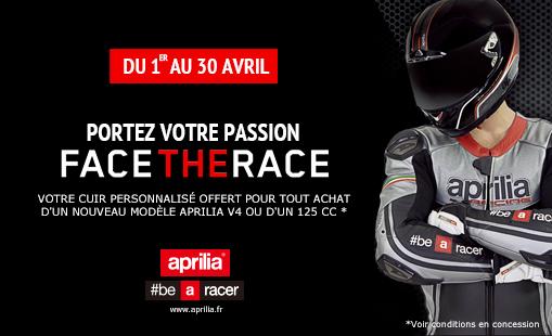 Aprilia FACE THE RACE