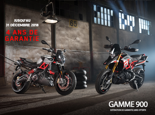 Offre Aprilia gamme 900