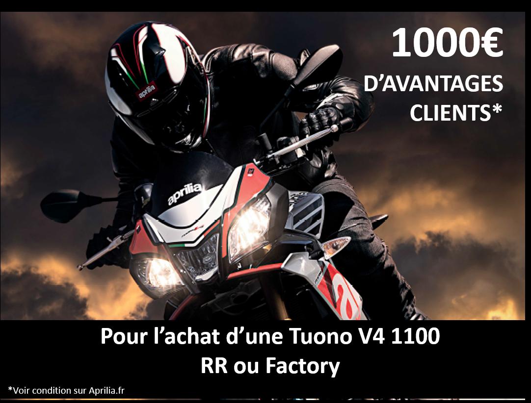 GAMME TUONO:  1000€ D'AVANTAGES CLIENT!