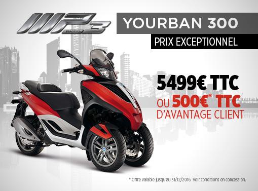 Promo 500€ Yourban